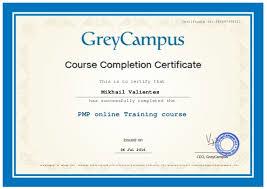GreyCampus Certificate