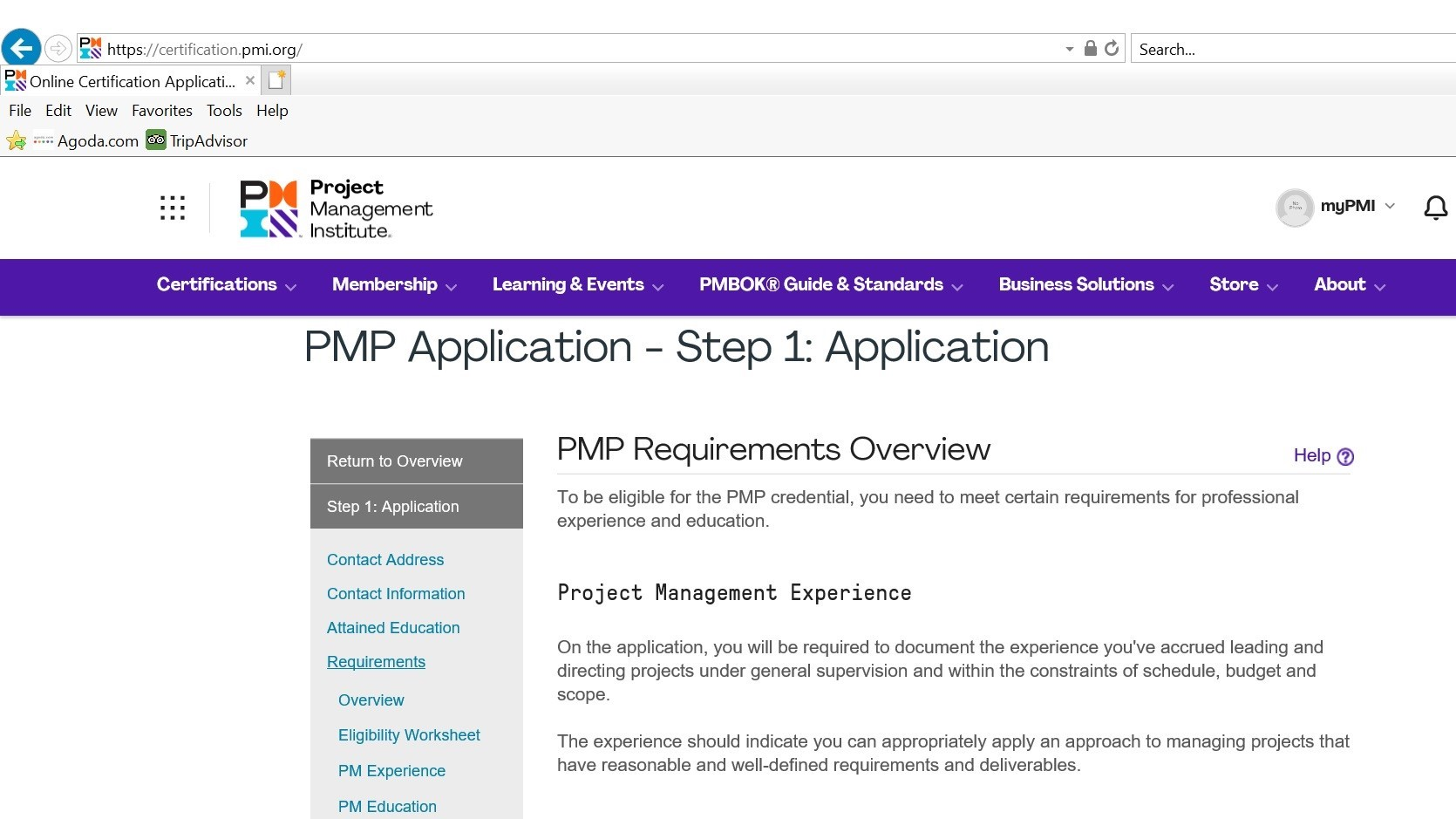 PMP Requirements1
